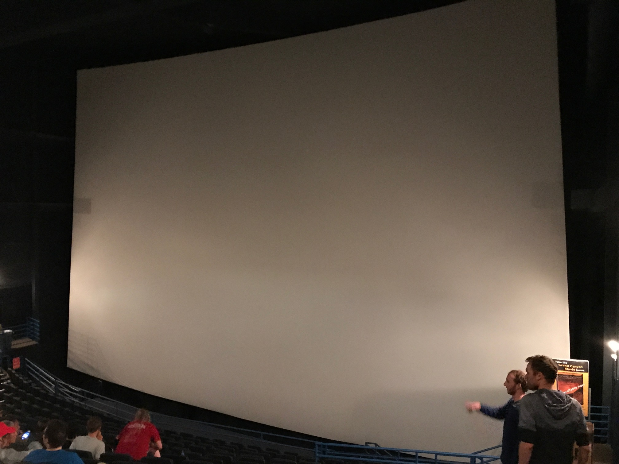 National Geographic IMAX screen