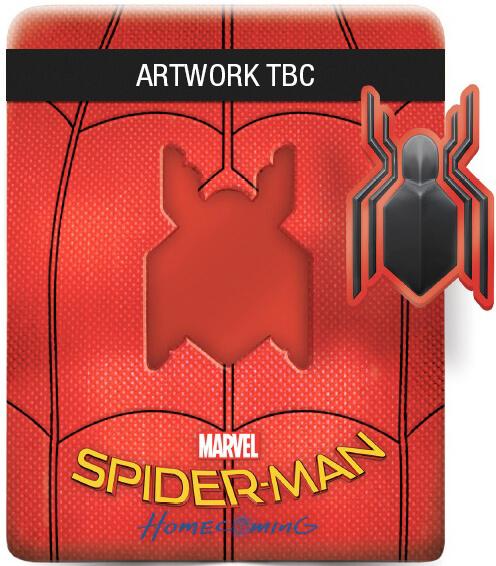 Spider-Man: Homecoming SteelBook UK