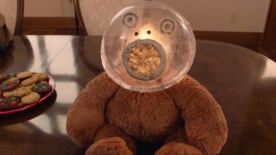 Johnny Horne's teddy bear