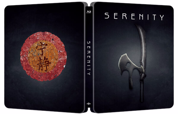 Serenity SteelBook front and back