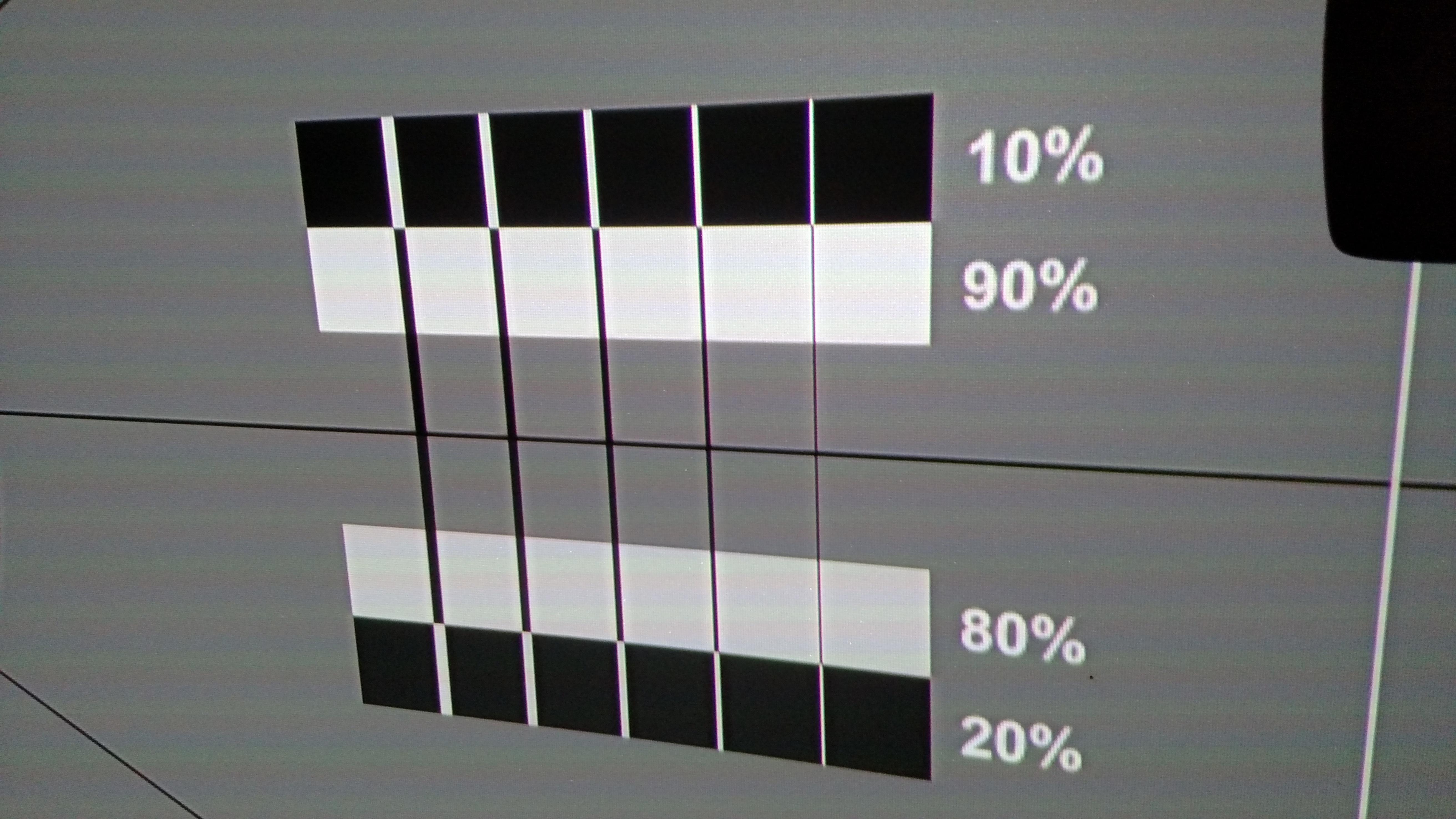 Sharpness Pattern - Regular HDMI