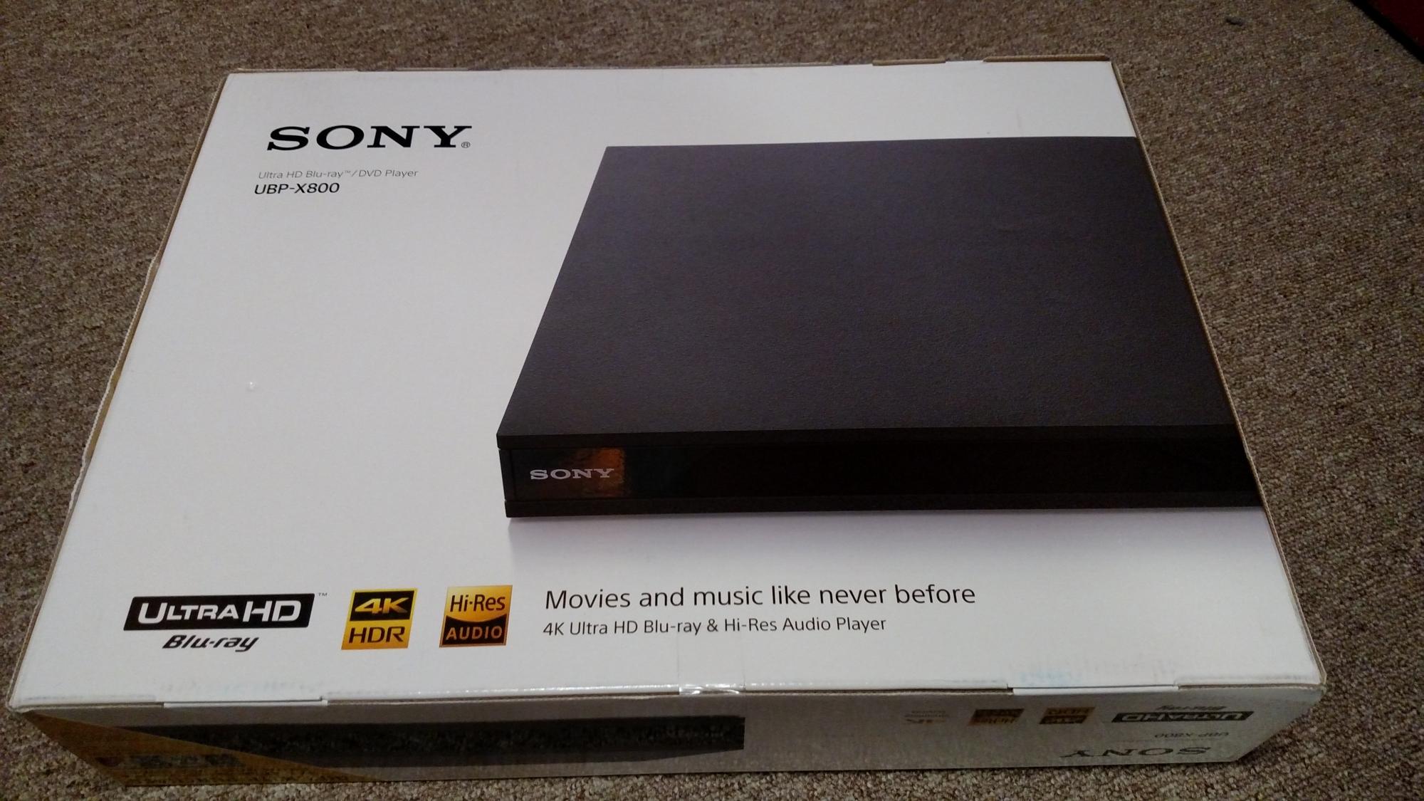 Sony UPB-X800 Box