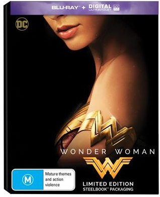Wonder Woman Australian SteelBook