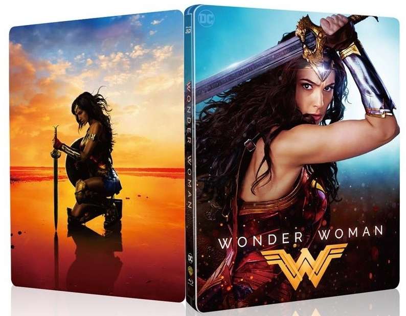 Wonder Woman Chinese SteelBook