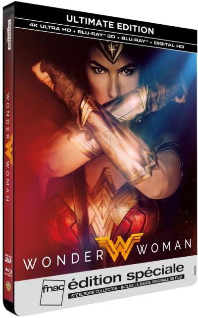 Wonder Woman French SteelBook