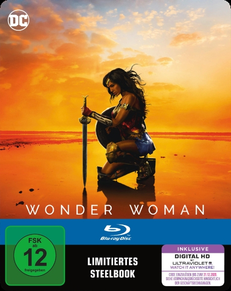 Wonder Woman German SteelBook 2