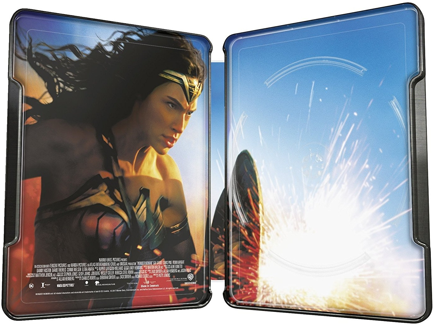 Wonder Woman German SteelBook inside