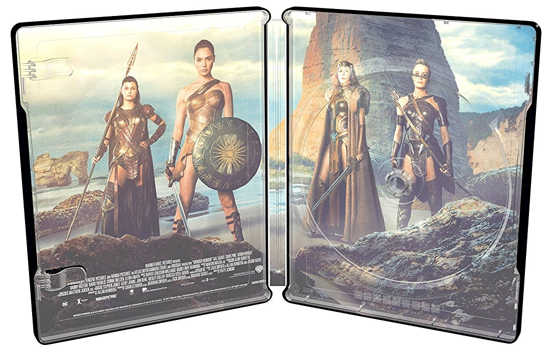 Wonder Woman Italian SteelBook inside