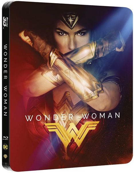 Wonder Woman UK & Hong Kong SteelBook SteelBook
