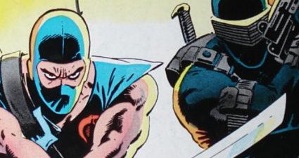 G.I. Joe Comic - Storm Shadow & Snake Eyes