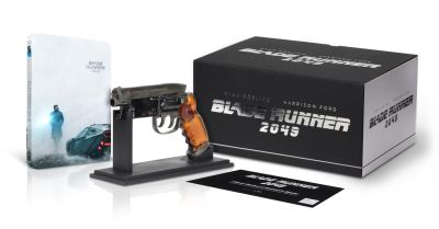 Blade Runner 2049 French SteelBook with Gun Replica