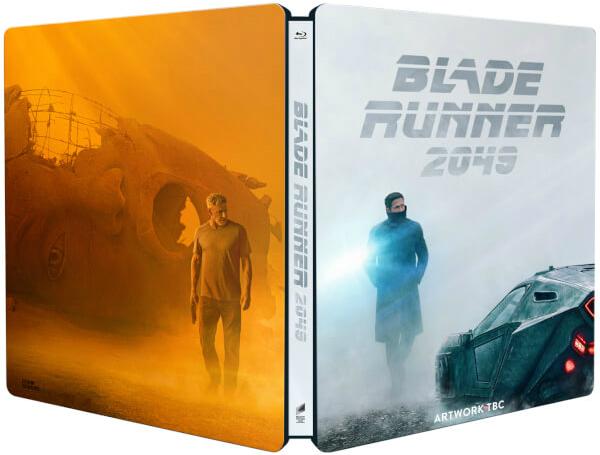 Blade Runner 2049 SteelBook open