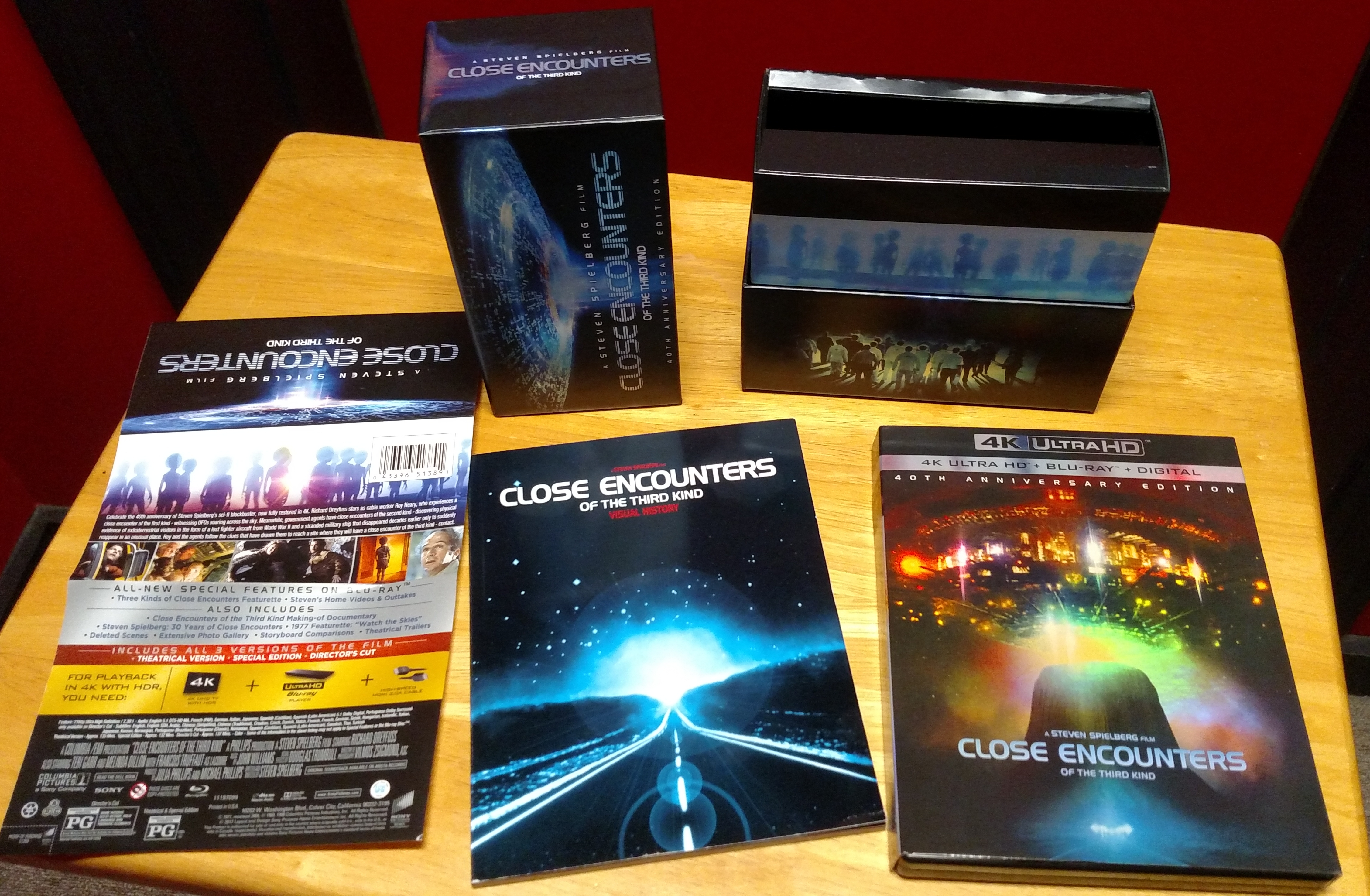 Close Encounters Gift Set - Contents