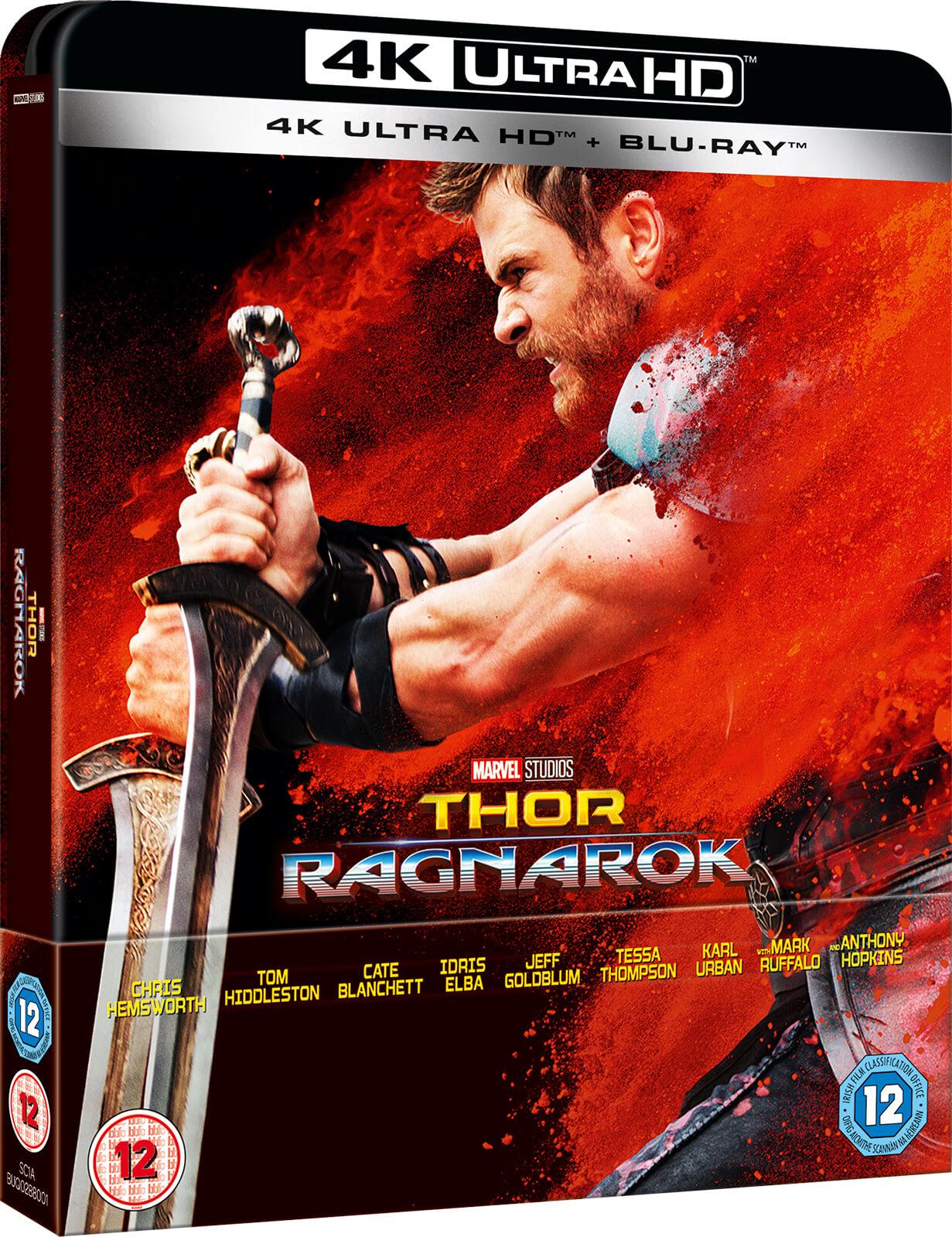 Thor: Ragnarok 2017 SteelBook