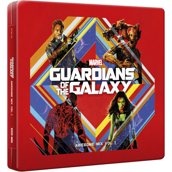 Guardians of the Galaxy Awesome Mix Vol. 1 Soundtrack CD SteelBook