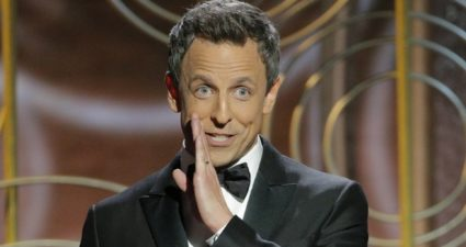 Golden Globes 2018 Seth Meyers