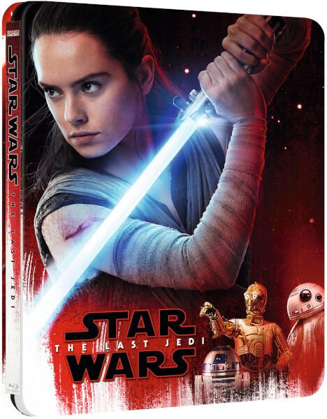 Star Wars: The Last Jedi UK SteelBook front