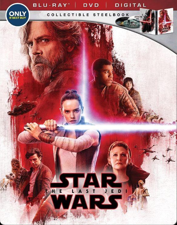 Star Wars: The Last Jedi Blu-ray SteelBook