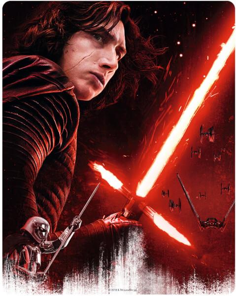 Star Wars: The Last Jedi UK SteelBook back