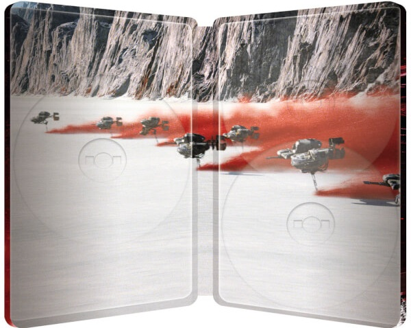Star Wars: The Last Jedi UK SteelBook inside