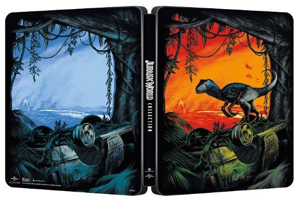 Jurassic World: 5-Movie Collection SteelBook Open