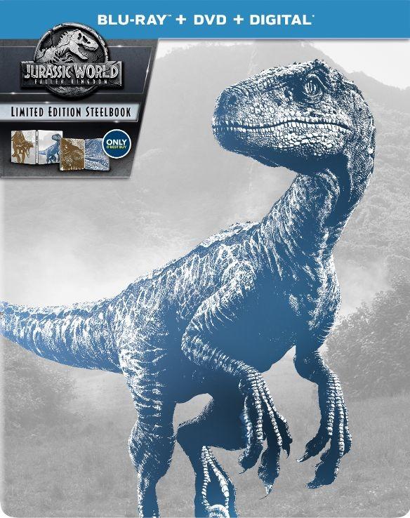 Jurassic World: Fallen Kingdom Blu-ray SteelBook