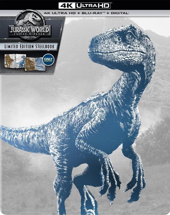 Jurassic World: Fallen Kingdom Ultra HD SteelBook
