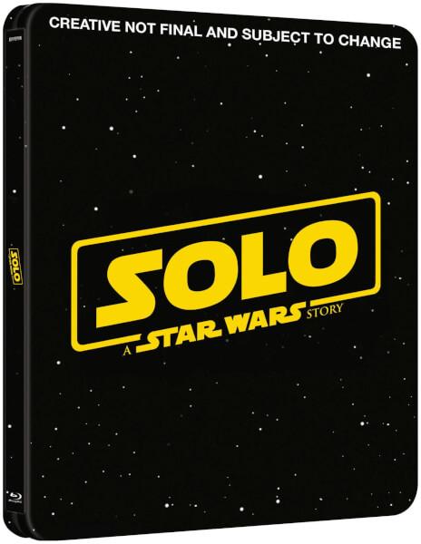 Solo: A Star Wars Story SteelBook - Zavvi 3D