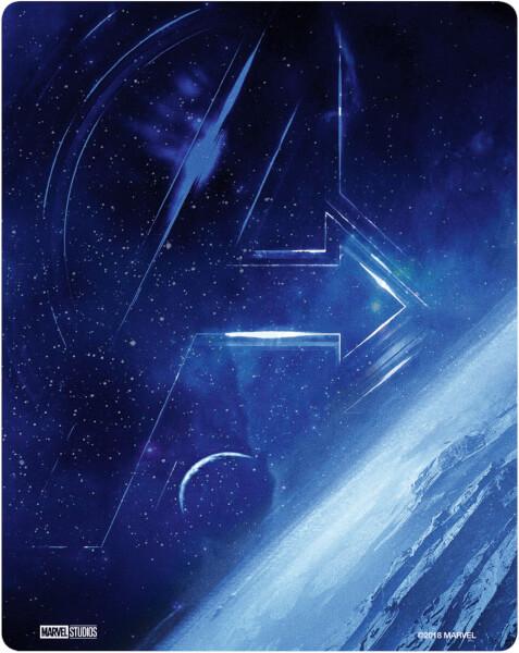 Avengers: Infinity War SteelBook UHD back