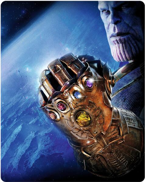 Avengers: Infinity War SteelBook UHD front