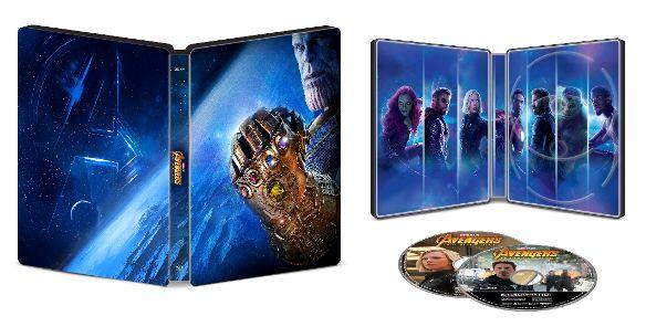 Avengers: Infinity War SteelBook UHD