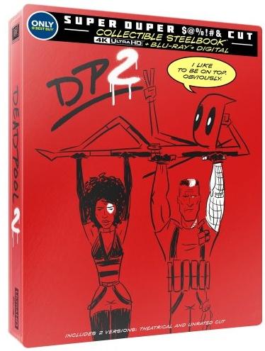 Deadpool 2 SteelBook UHD front