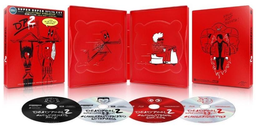 Deadpool 2 SteelBook UHD