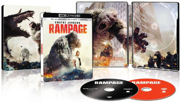 Rampage UHD SteelBook