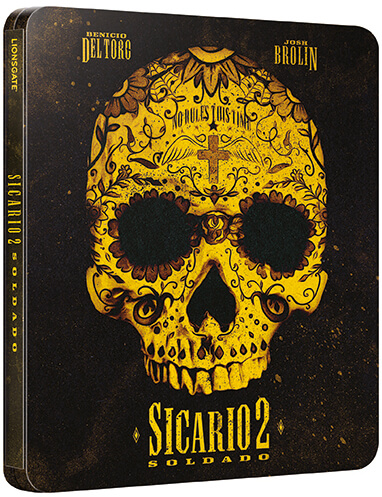 Sicario: Day of the Soldado SteelBook front