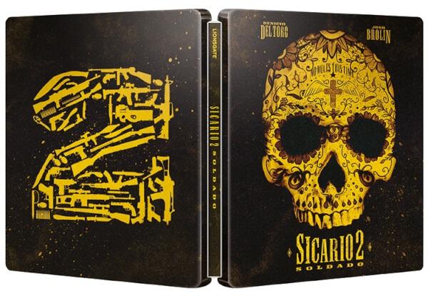 Sicario: Day of the Soldado SteelBook opened