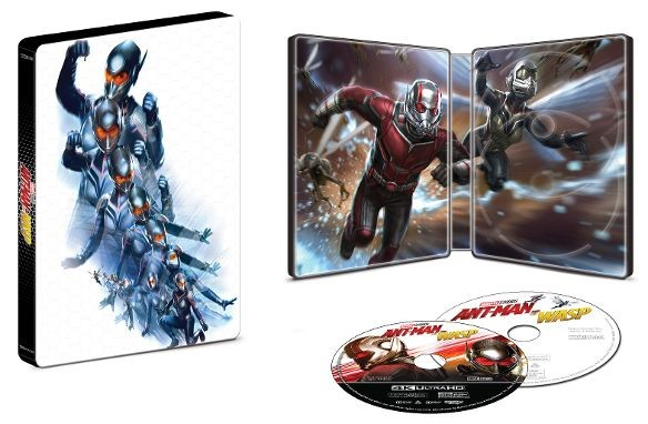 Ant-Man and the Wasp 4k SteelBook Best Buy