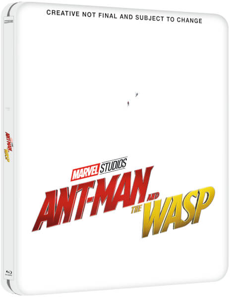 Ant-Man and the Wasp UK SteelBook Zavvi