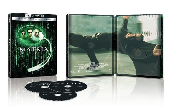 The Matrix 4k Ultra HD SteelBook