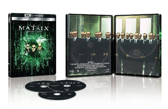 The Matrix Revolutions 4k Ultra HD SteelBook