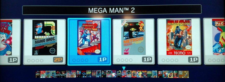 NES Classic Edition Menu