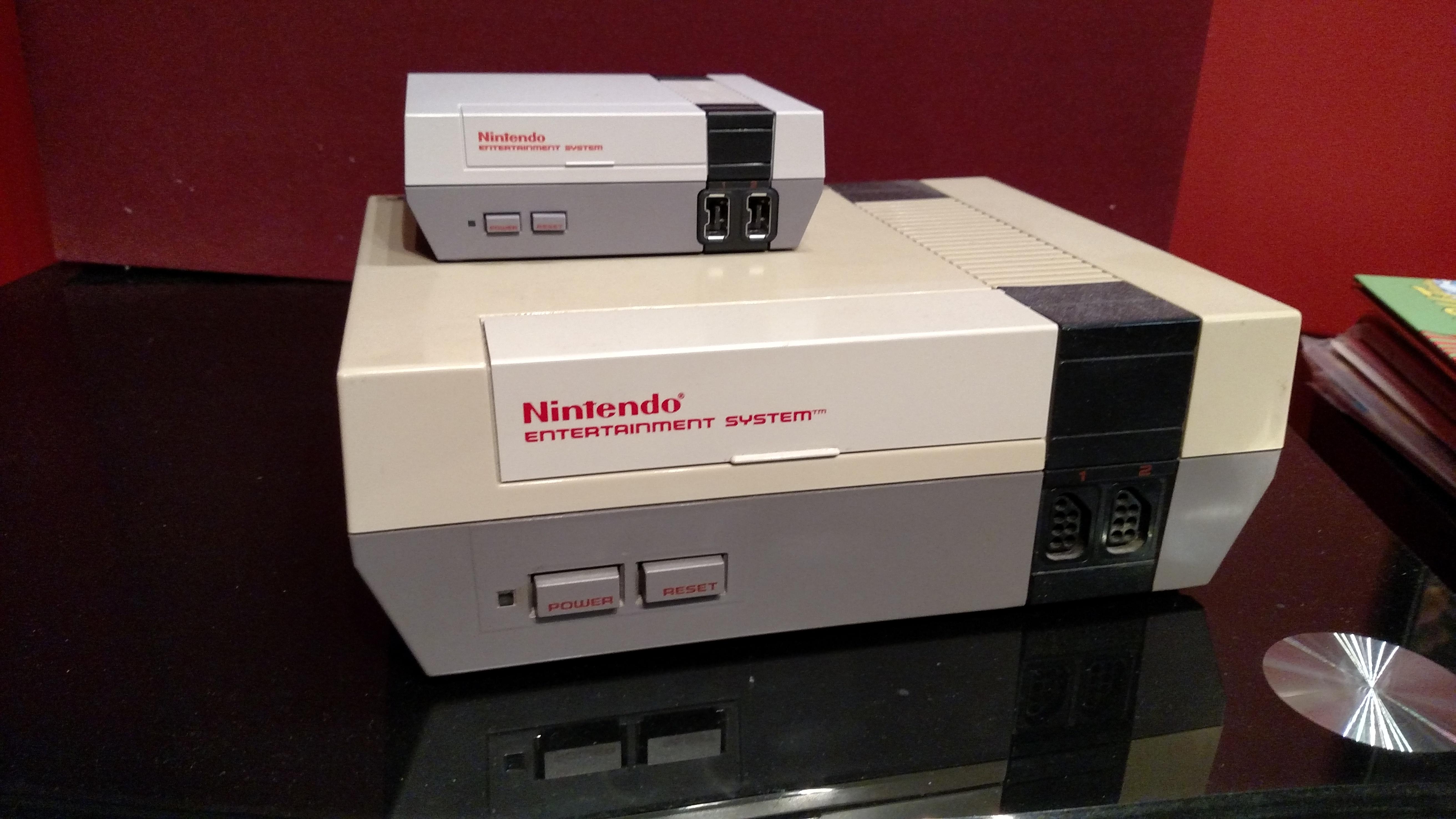 NES Classic Edition vs. Original NES