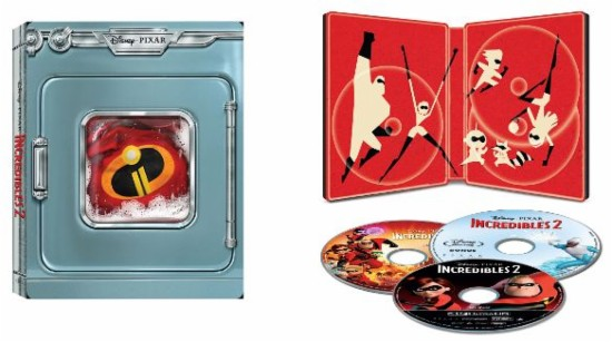 Incredibles 2 4k SteelBook Best Buy
