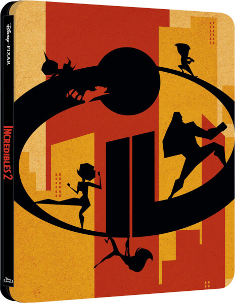 Incredibles 2 UK 3D SteelBook