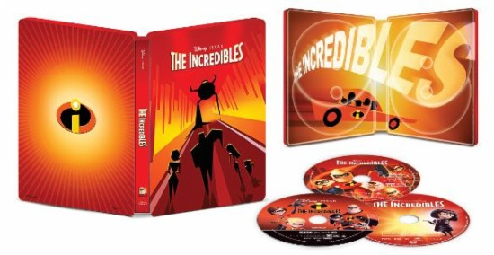 The Incredibles 4k SteelBook