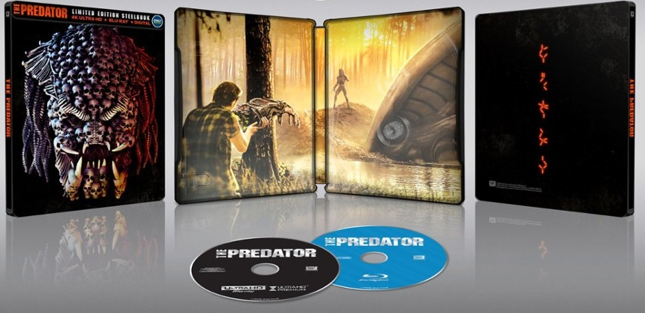 The Predator 4k Best Buy SteelBook
