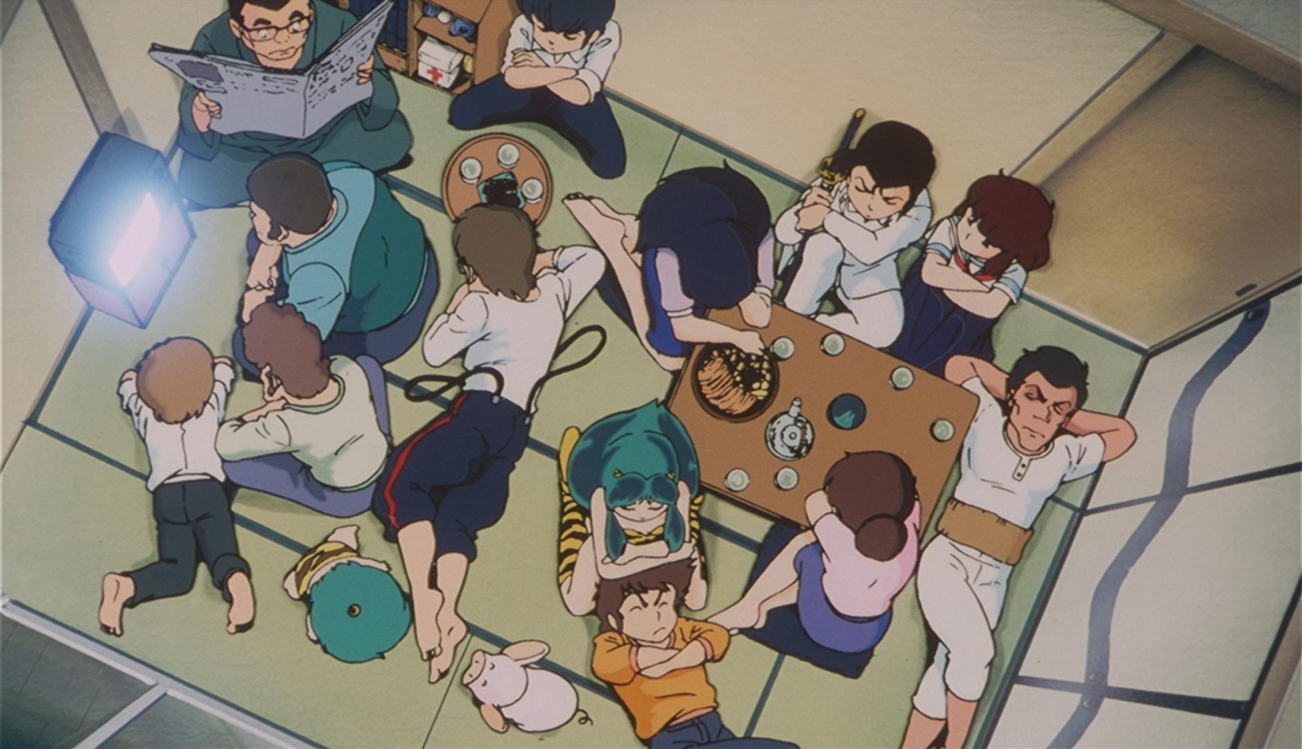 Urusei Yatsura 2 - The Characters