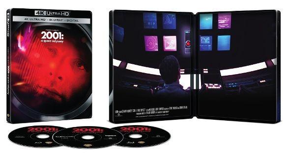 2001: A Space Odyssey 4k SteelBook