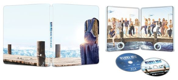 Mamma Mia! Here We Go Again SteelBook