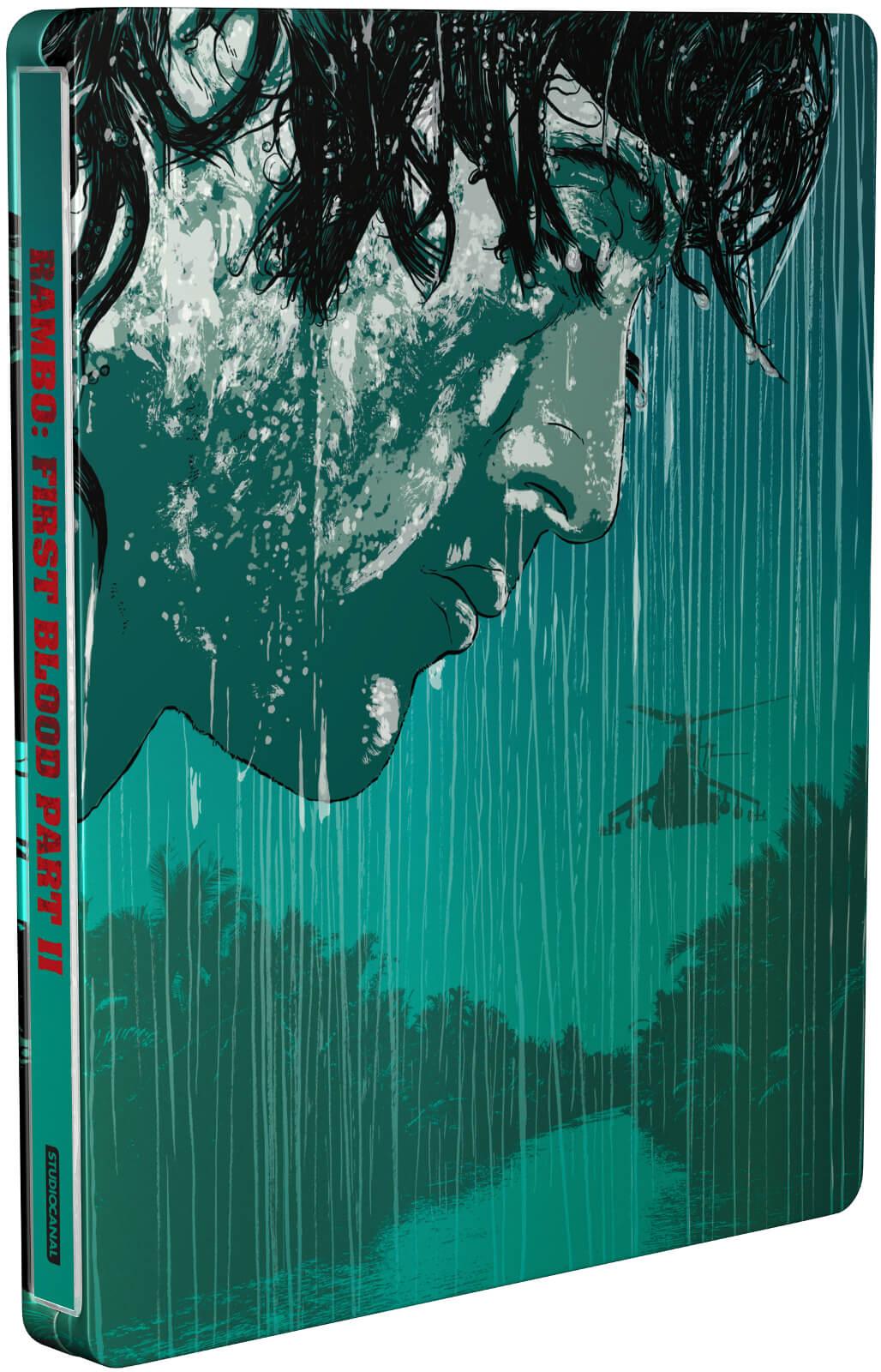 Rambo: First Blood Part II SteelBook front
